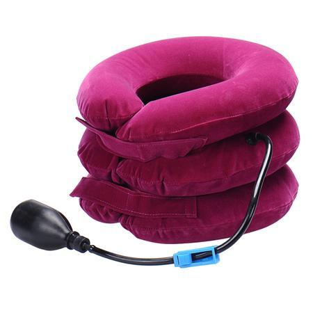 Glow Allure Hot Pink Inflatable Neck Support Brace