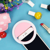 Glow Allure International / Black Portable Selfie Ring Light