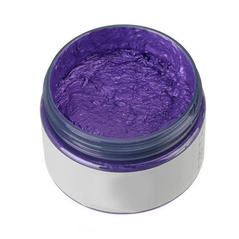 Glow Allure Mystery Purple Temporary Hair Color Wax