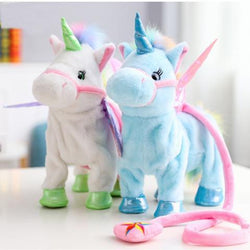 Glow Allure Walking Singing Unicorn