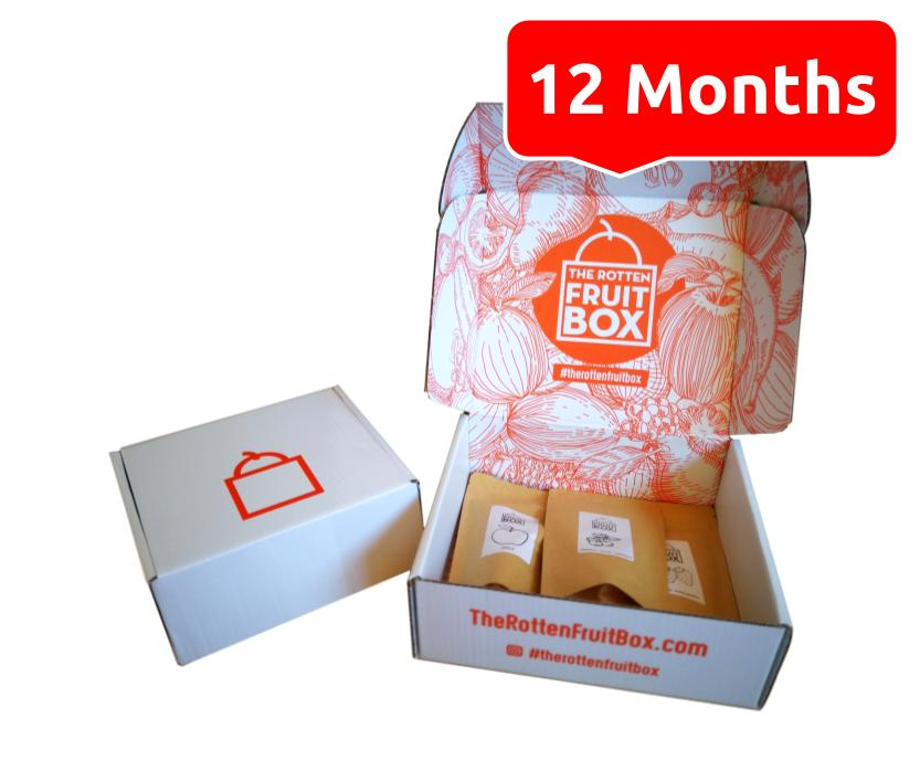Custom Freeze Dried Fruit Box - 12 Months