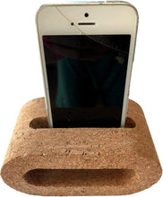 Load image into Gallery viewer, Cork Cell Phone Holder & Stand