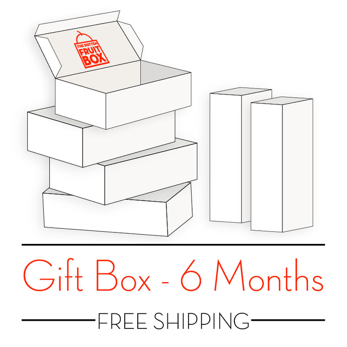 Freeze Dried Seasonal Fruit Snack Gift Box - 6 Months