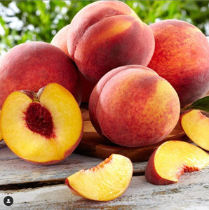 Freeze Dried Peach Fruit Box