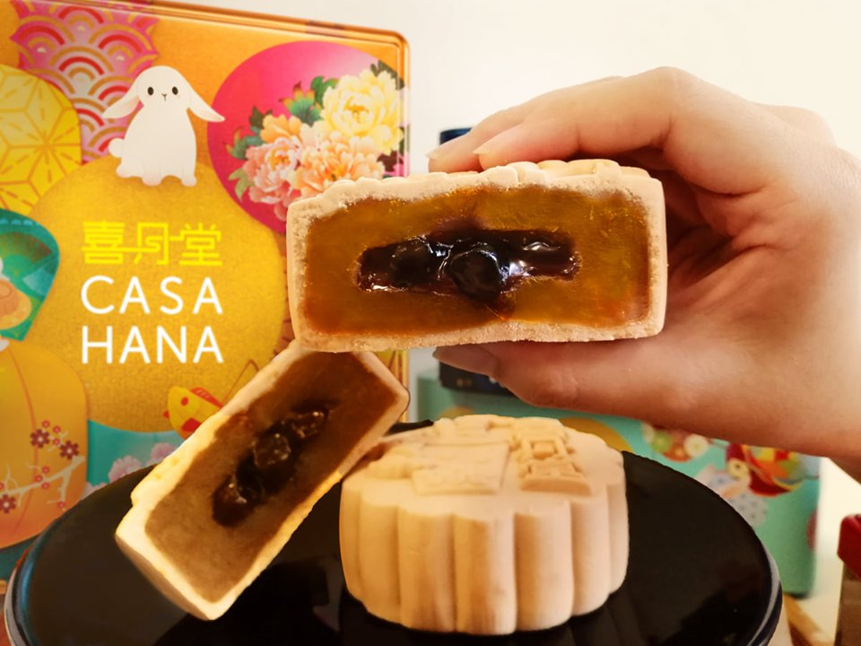 Bubble tea mooncake