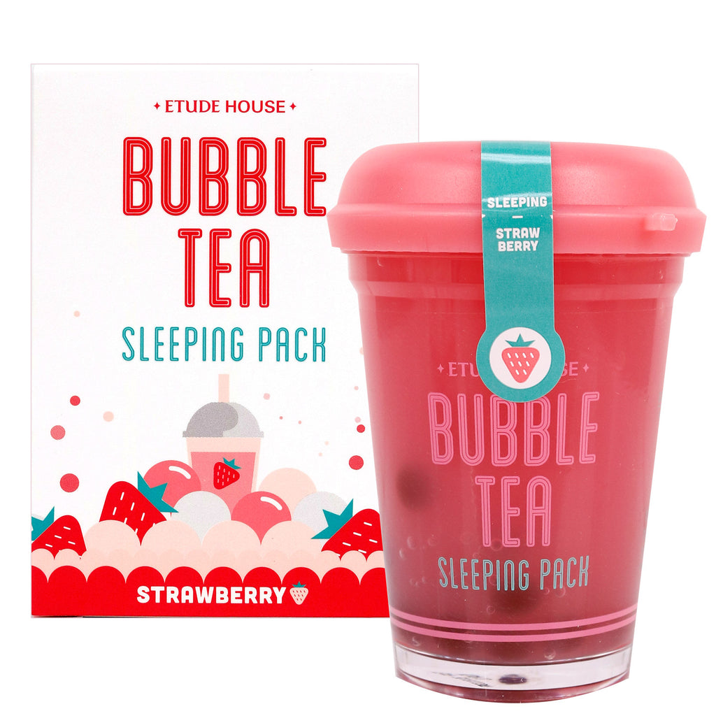Etude bubble tea sleeping pack