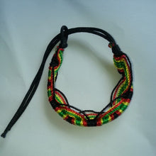 2pc Rasta Friendship Bracelet WRISTBAND Cotton  Reggae Jamaica