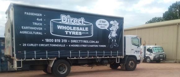 Direct Wholesale Tyres - Truck, Trailer, 4WD & Car Tyres Townsville