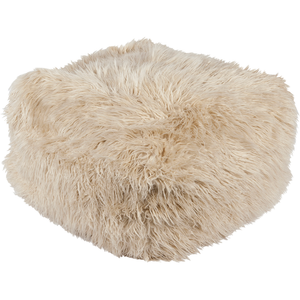 Faux Fur Pouf - WM  Interior Designs