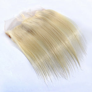 Brazilian Straight 613 Lace Frontal Closure Ear To Ear Free Part