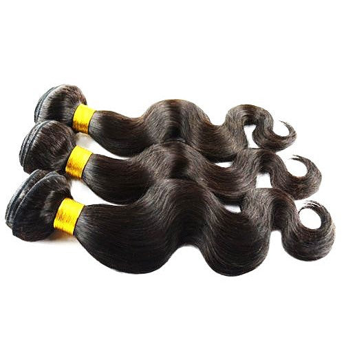 Premium Peruvian Body Wave Virgin Human Hair 3 Bundles Deal