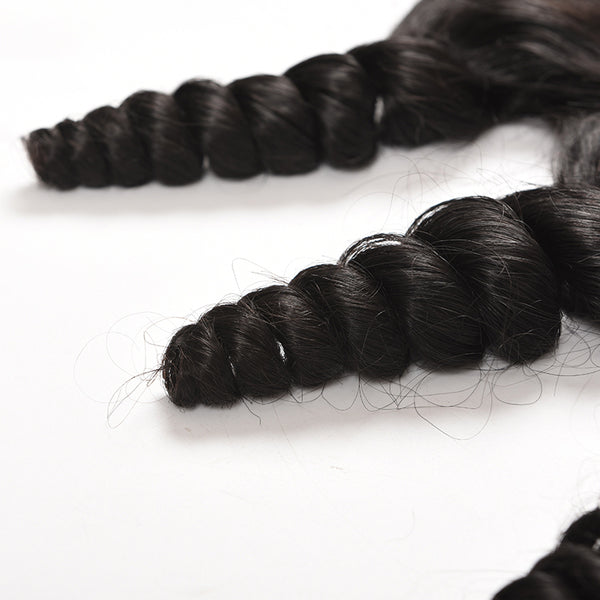 Brazilian Loose Wave Ear to Ear Lace Frontal with Baby Hair