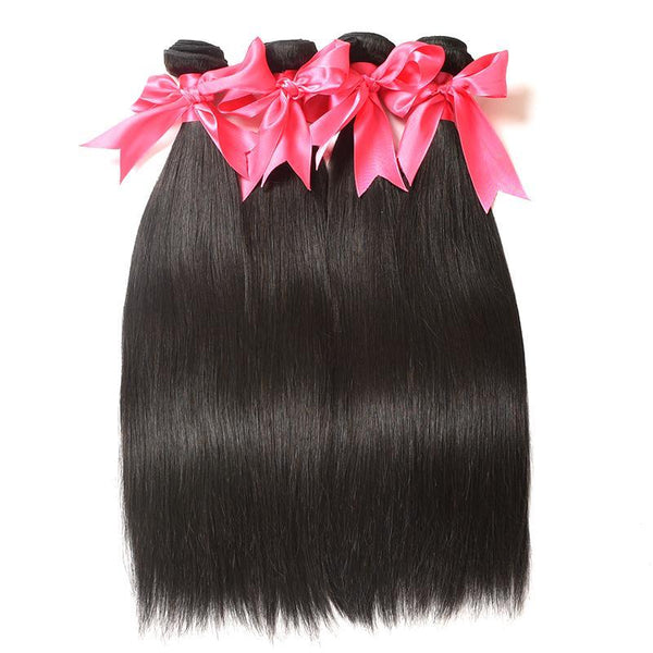 Brazilian Straight Remy Hair 4 Bundle Deal