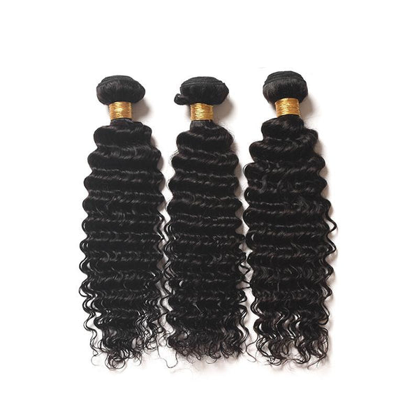 Brazilian Deep Wave 3 Bundle  Deal with Closure