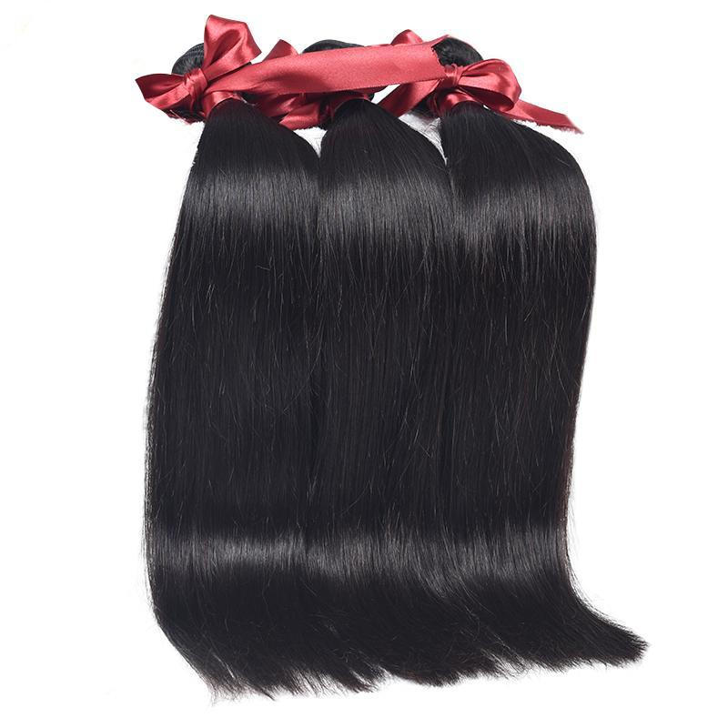 Peruvian Straight Remy Hair 3 Bundle Deal