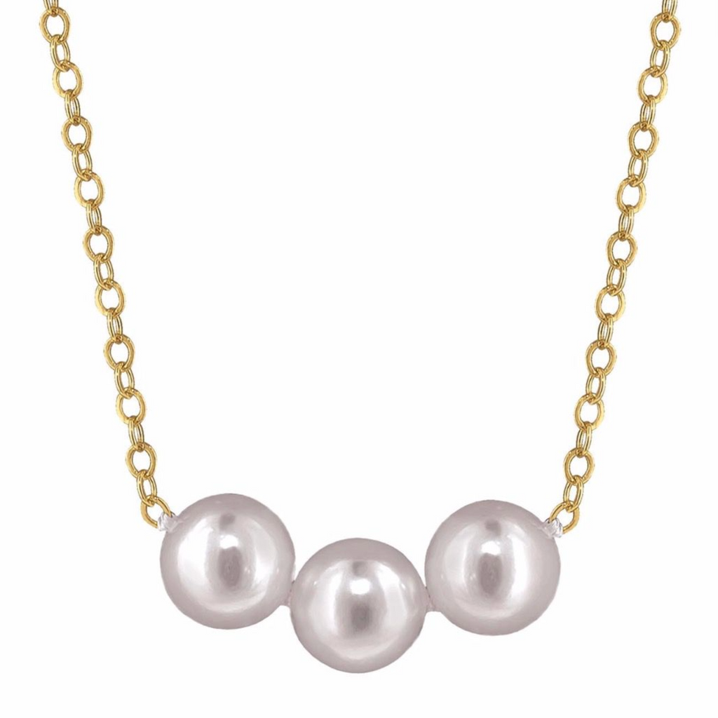 Add-A-Pearl Pendant in Gold