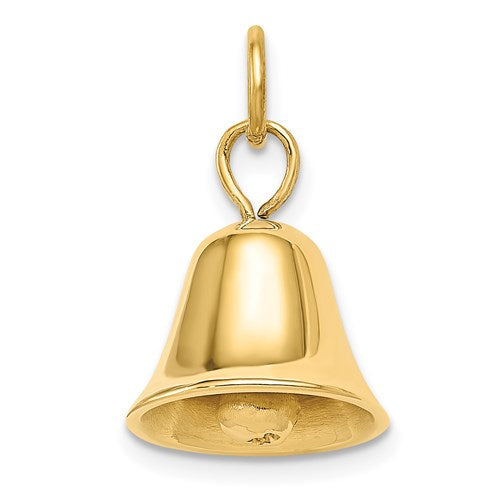 Wedding Bell Charm in Gold