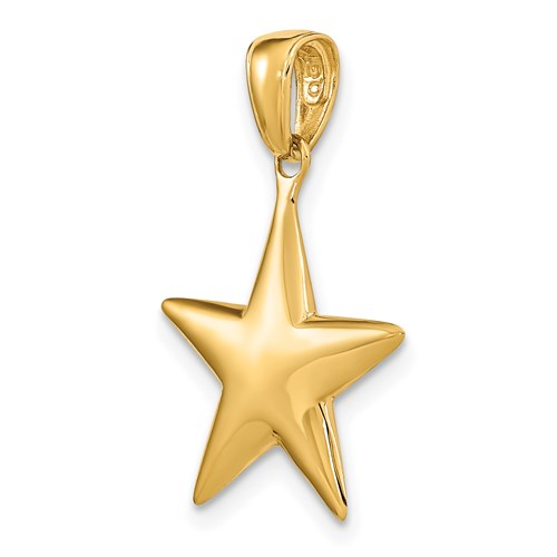 Star Charm in Gold