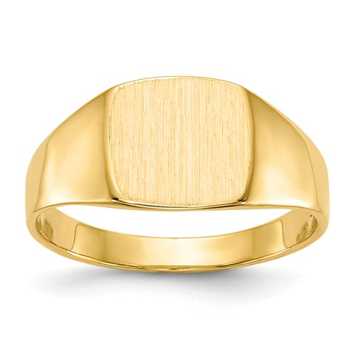 Classic Signet Ring in Gold - Small