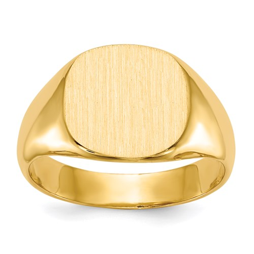 Classic Signet Ring in Gold - Medium