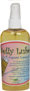 BELLY LUBE Maternity Massage Oil  4 oz spray