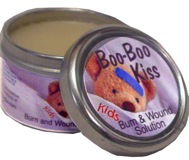 BOO BOO KISS Burn and Wound Solution for Kids  2 oz