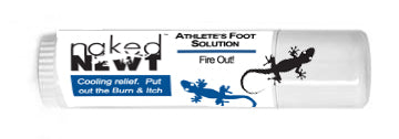 FIRE OUT! Athlete's Foot Solution  .5 oz Roll Up Tube