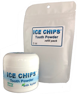 Tooth Powder Jar W/ Refill