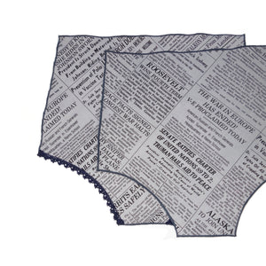 The Newsroom Panty Square®