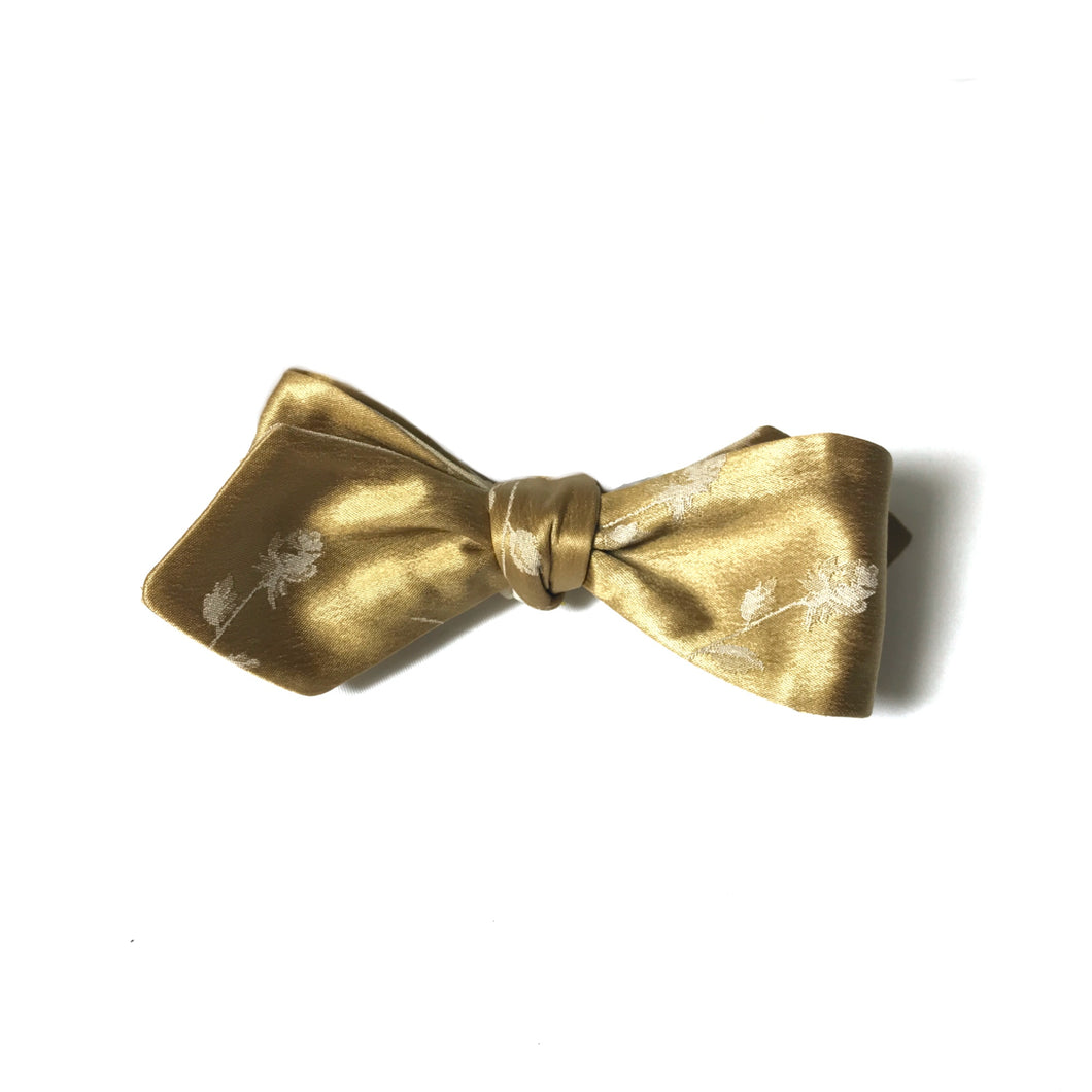 The Gold N Roses Bow Tie