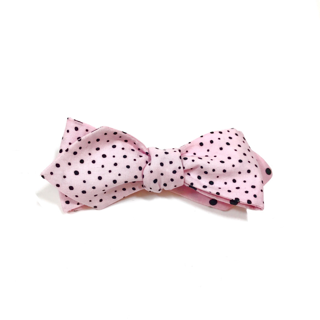 The Powder Dot Bow Tie
