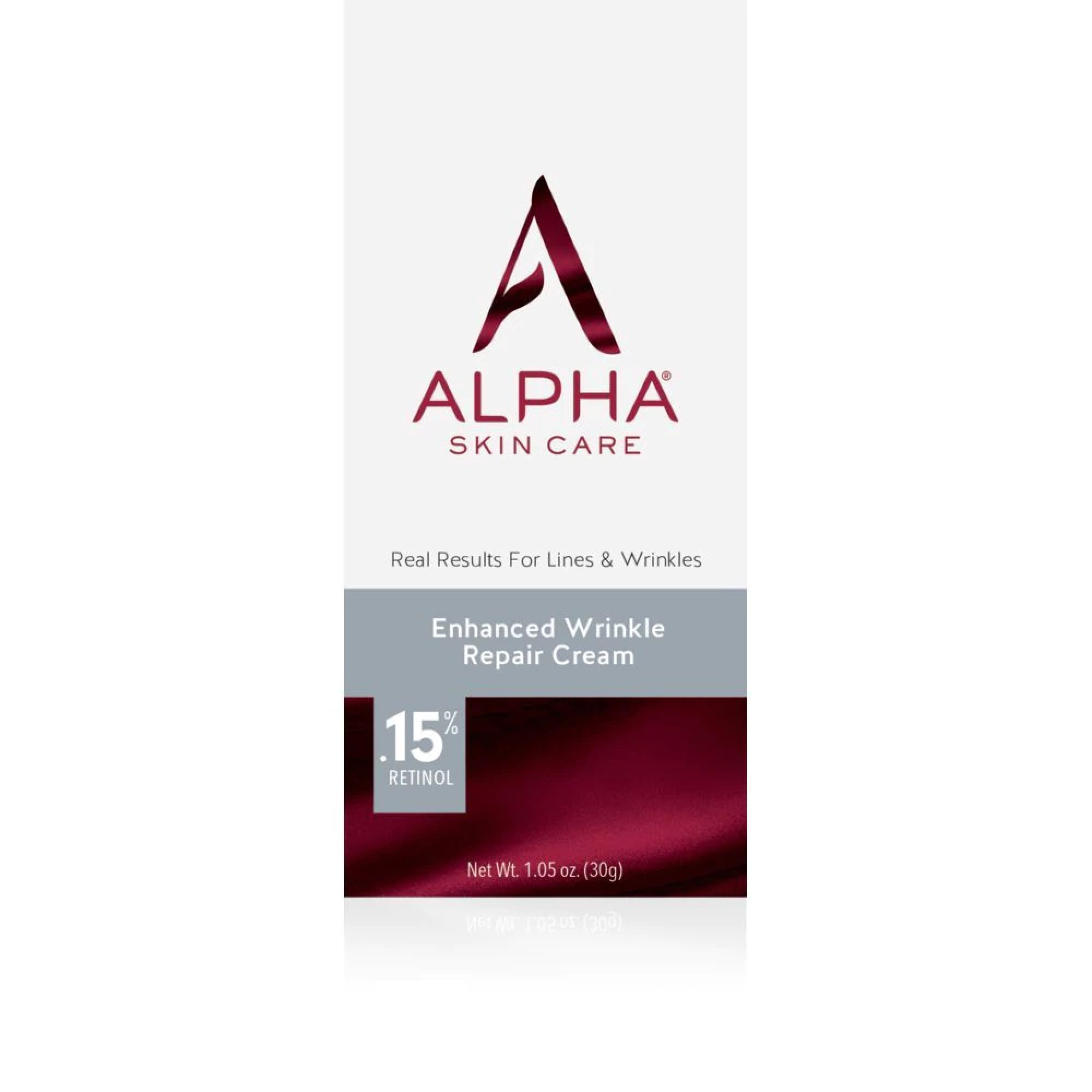 Alpha Enhanced Wrinkle Repair Cream with .15% Retinol