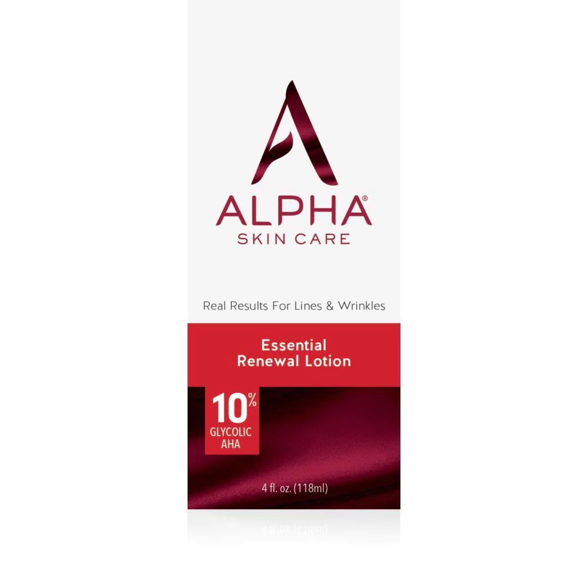 Alpha Essential Renewal Lotion with 10% AHA