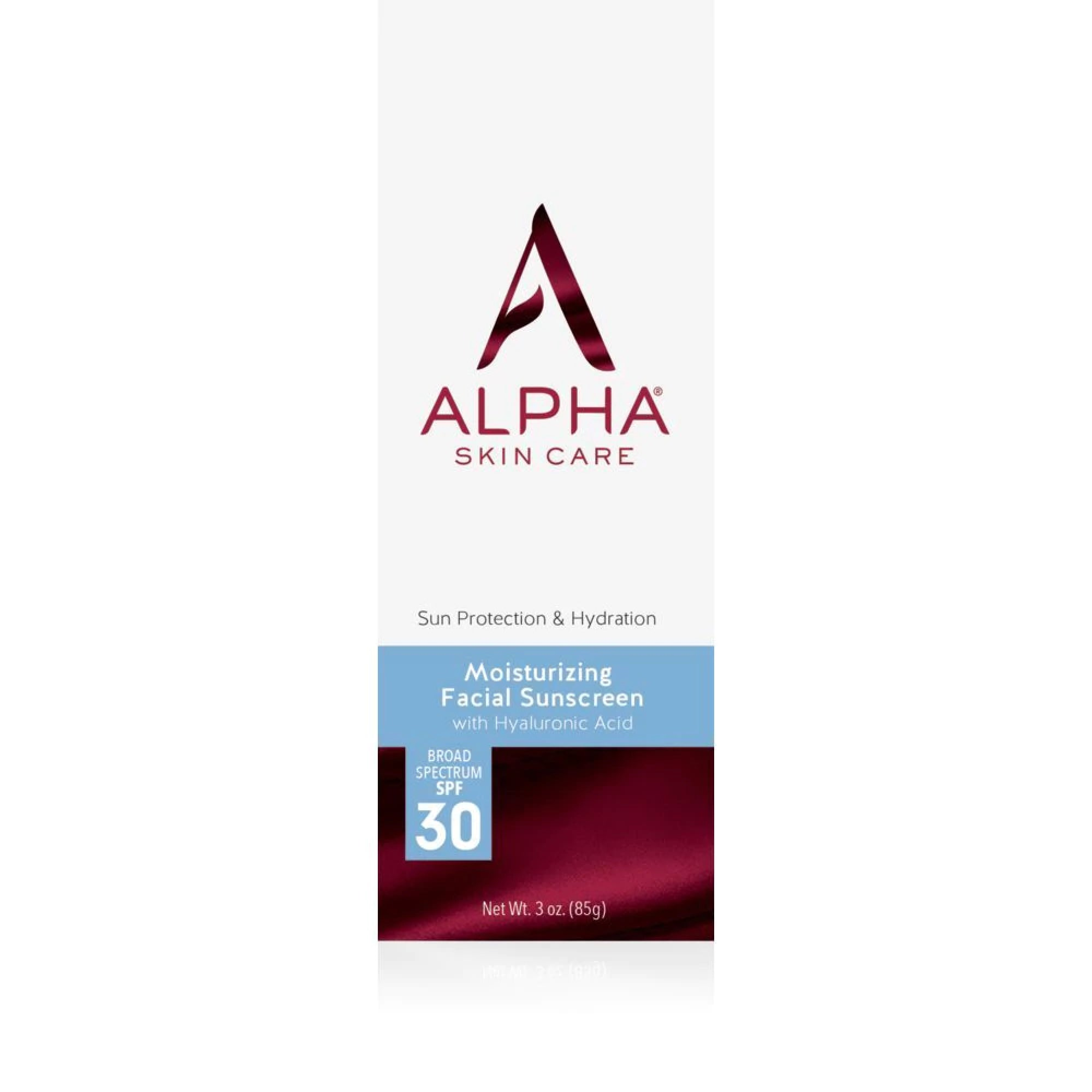 Alpha Moisturizing Facial Sunscreen with SPF 30