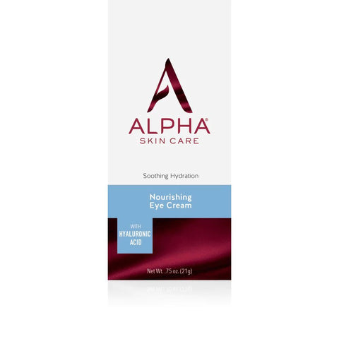 Alpha Nourishing Eye Cream with Hyaluronic Acid