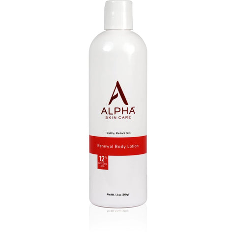 Alpha Renewal Body Lotion with 12% AHA
