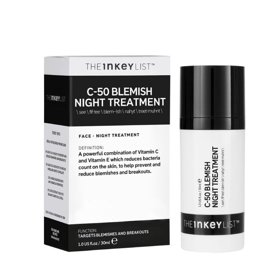 The INKEY List C-50 Blemish Night Treatment