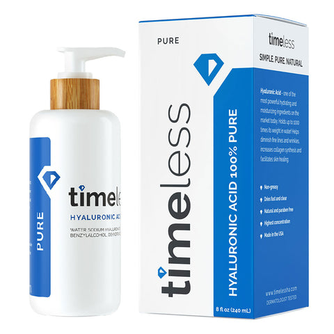 Timeless Hyaluronic Acid 100% Pure Serum Refill