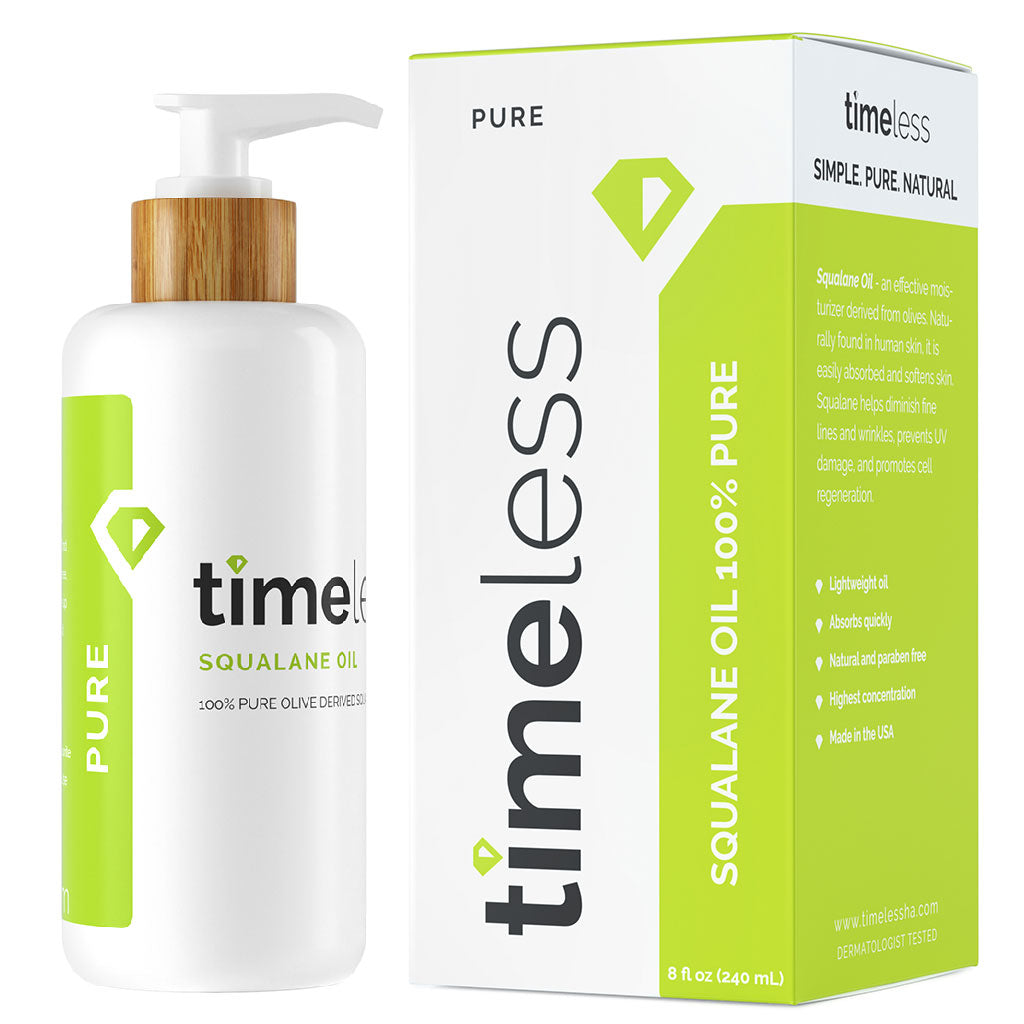 Timeless Squalane Oil 100% Pure Refill