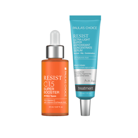 ULTIMATE Brightening + Anti-Aging Duo for Oily Skin