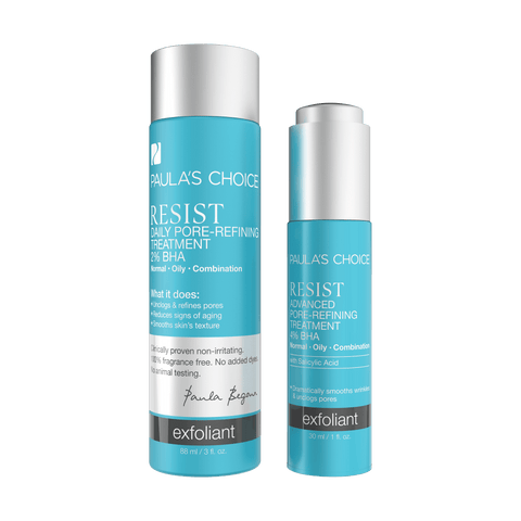 RESIST BHA Exfoliant Set