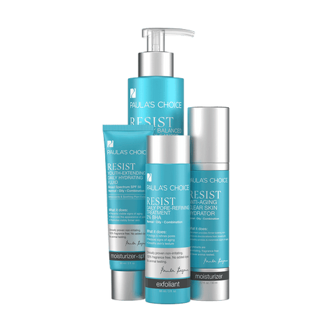 RESIST Essential Kit for Wrinkles and Breakouts