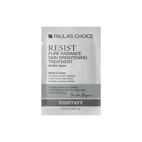 RESIST Pure Radiance Skin Brightening Treatment Sample