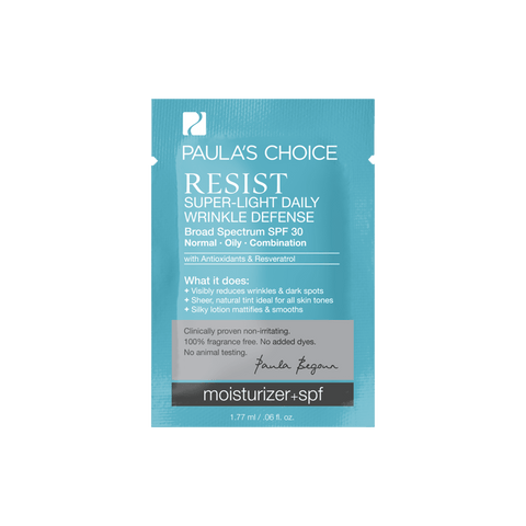 RESIST Super-Light Wrinkle Defense SPF 30 Sample