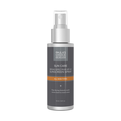 SUNSCREEN Non-Greasy Spray Broad Spectrum SPF 43