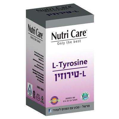 L-Tyrosine (60 capsules) Helps with depression Laboratories Nutriker