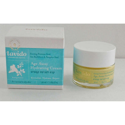 Anti Wrinkle Cream Oil Night - Primrose Seed Oil (50ml) Lavido-Israel-Cart