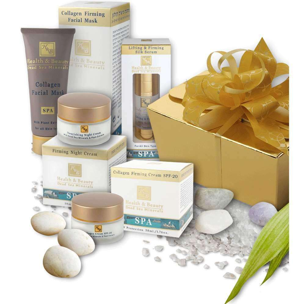 Dead Sea Cosmetics Gift Set - Collagen Face Care