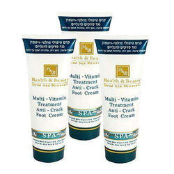 Multi-Vitamin Foot Cream, 3 x 180 ml Dead Sea Minerals
