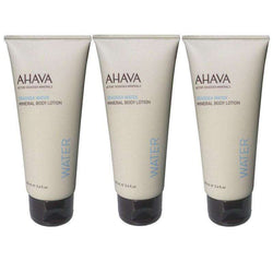 Set of 3 Mineral Body Lotions Deadsea Water